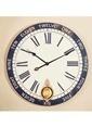 Warm Design Eskitme Duvar Saati Beyaz